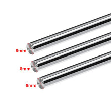 Load image into Gallery viewer, 3D Printer Parts Smooth Shaft Rod Optical Axis Multiple Length Option 100 200 285 370 450 550 600mm CNC Chromed Diameter 8mm