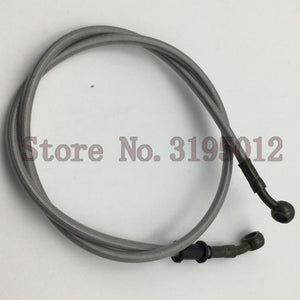 Motorcycle Dirt Bike Braided Steel Hydraulic Reinforce Brake line Clutch Oil Hose Tube 500 To 1500mm Universal Fit Racing MX