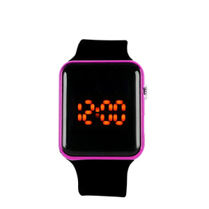 Digital Watch Men Womens Silicone LED Sport Digital Bracelet WristWatch