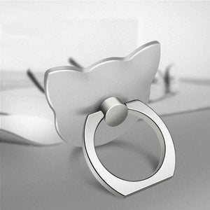 Finger Ring Mobile Phone Smartphone Stand Holder For iPhone XS Huawei Samsung cell Smart Round Phone Ring holder Car Mount Stand