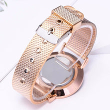 Load image into Gallery viewer, Women Watches Bayan Kol Saati Fashion Rose Gold Silver Luxury Lady Watch For WomenTop Brand Wrist Watch Relogio Feminino Gift
