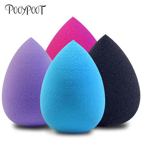 Pooypoot Soft Water Drop Shape Makeup Cosmetic Puff Powder Smooth Beauty Foundation Sponge Clean Makeup Tool Accessory