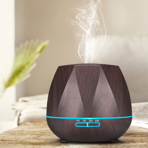 500ML Remote Control Air Humidifier Essential Oil Diffuser Humidificador Mist Maker LED Aroma Diffusor Aromatherapy