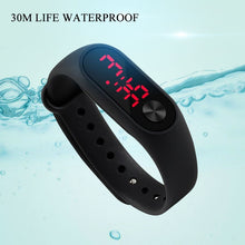 Load image into Gallery viewer, Relogio Led Digital Student Sport Watch Pink Silicone Women Watches Boy Brand Men Military Wristwatch Children Clock Reloj Mujer
