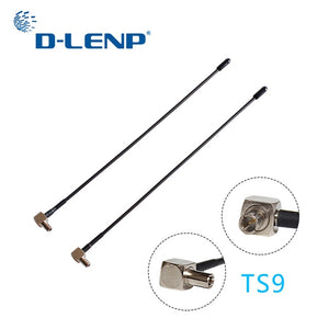 Dlenp 2pcs 4G LTE Antenna with TS9 or CRC9 Connector For Huawei E398 E5372 E589 E392 Zte MF61 MF62 aircard 753s 5dbi Gain