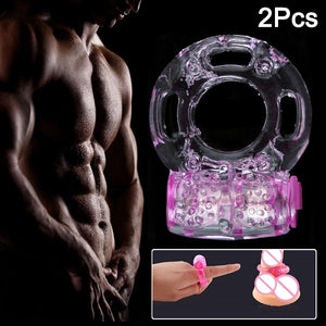New Vibrator Ring for Penis Cock Extender Ring Delay Ejaculation Sex Man Toys SN-Hot