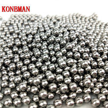 Load image into Gallery viewer, 100 pcs/Lot 6mm 7mm 8mm Steel Balls Slingshot Hunting High-carbon Steel Slingshot Balls Catapult Slingshot Hitting Ammo Steel