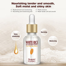 Load image into Gallery viewer, HOREC White Rice Whitening Serum Face Moisturizing Cream Anti Wrinkle Anti Aging Face Fine Lines Acne Treatment Skin Care 15ml