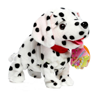 Cute Walking Barking Electronic Dog Toy Battery Powered Interactive Pets Toys