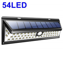 Load image into Gallery viewer, Solar Lamp 118 LED PIR Motion Sensor Lamp Outdoors IP65 Waterproof Solar Garden Lights Emergency Security Light Solar Wall Lamp