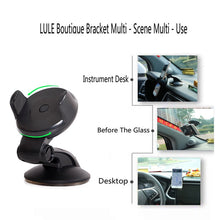 Load image into Gallery viewer, Suporte Porta Celular For Samsung iPhone Huawei Telefon Cell Soporte Movil Auto Mobile Phone Stand Car Holder Smartphone Voiture