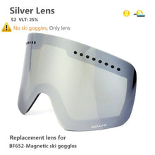 Load image into Gallery viewer, Ski Goggles with Magnetic Double Layer polarized Lens Skiing Anti-fog UV400 Snowboard Goggles Men Women Ski Glasses Eyewear case