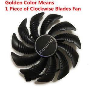 82-85MM T129215SU GPU Cooler Alternative Fan For GIGABYTE RX580 480 570 470 GTX1070 1060 1050 Graphics Video Card Cooling Fee