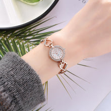 Load image into Gallery viewer, 2019 Brand Luxury Bracelet Watch Women Watches Rose Gold Women's Watches Diamond Ladies Watch Clock Relogio Feminino Reloj Mujer