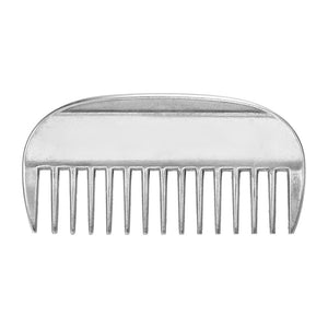 Genuine Horse Comb Aluminum Alloy Horse Cleaning Tool Mane Tail Pulling Combs Grooming Equipment Horse Care Accessories 3.2-6.5""
