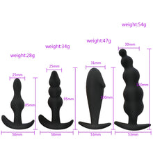 Load image into Gallery viewer, Silicone Anal Plug Butt Plug Open Expander Dildo Prostate Massager Anal Dilator Male Masturbator Women Men Couples Gay Sex Toys