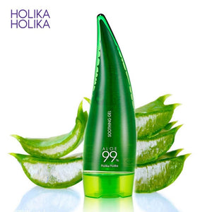 HOLIKA HOLIKA 99% Aloe Soothing Gel Aloe Vera Gel Skin Care Remove Acne Moisturizing Day Cream After Sun Lotions Aloe Gel 55ml