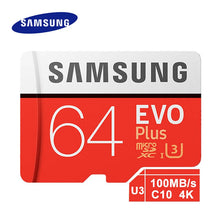 Load image into Gallery viewer, SAMSUNG Memory Card EVO 32G 95MB/S SDHC MicroSD 64GB 128GB 256GB 4K 100MB/s SDXC Class 10 Micro SD C10 UHS TF Trans Flash Cards