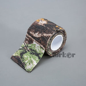 5cmx4.5m Army Camo Outdoor Disguise Hunting Durable Camouflage Stealth Tape Waterproof Wrap For Airsoft Riflescope Camera Lens