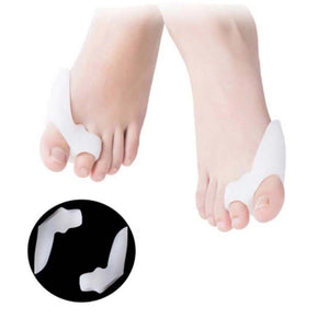 2pcs=1Pair Gel Foot Care Tool Bunion Corrector Bone Big Toe Protector Hallux Valgus Straightener Toe Spreader Pedicure