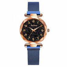 Load image into Gallery viewer, Magnetic Starry Sky Women Wrist Watch 2019 For Ladies Top Brand Luxury Watch Rose Gold relogio feminino Female Clock reloj mujer