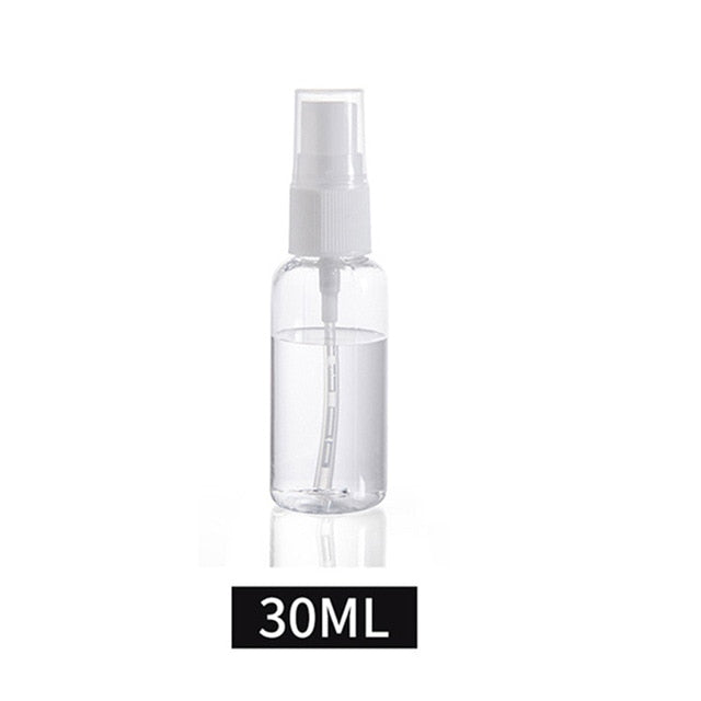1Pcs Transparent Empty Spray Bottles 30ml/50ml/100ml Plastic Mini Refillable Container Empty Cosmetic Containers