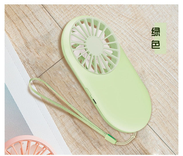New Pattern Pocket Fans Usb Charge Mini- Hold Fans Student Outdoors Bring Sika Portable Small Fan DC Mini Air Cooler Ventilador