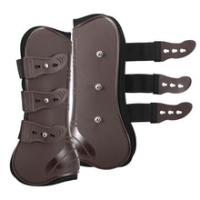 Load image into Gallery viewer, 4 PCS Front Hind Leg Boots Adjustable Horse Leg Boots Equine Front Hind Leg Guard Equestrian Tendon Protection Horse Hock Brace
