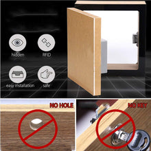 Load image into Gallery viewer, Invisible Hidden RFID Free Opening Intelligent Sensor Cabinet Lock Locker Wardrobe Shoe Cabinet Drawer Door Lock Electronic Da