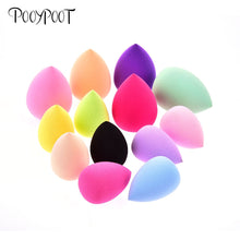 Load image into Gallery viewer, Pooypoot Soft Water Drop Shape Makeup Cosmetic Puff Powder Smooth Beauty Foundation Sponge Clean Makeup Tool Accessory