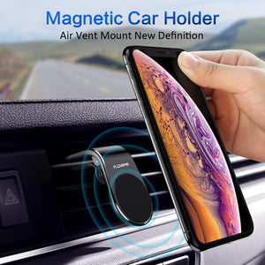 FLOVEME Car Phone Holder For Phone In Car Mobile Support Magnetic Phone Mount Stand For Tablets And Smartphones Suporte Telefone