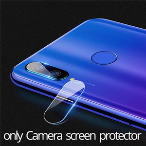 2-in-1 Camera Glass Redmi Note 7 Tempered Glass Screen Protector Xiaomi Redmi Note 7 Glass Film redmi note 7 screen protector