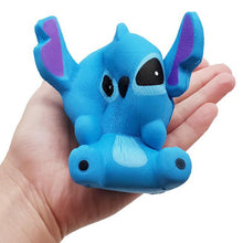 Load image into Gallery viewer, Jumbo Cute Stitch Squishy Simulation Slow Rising Sweet Scented Decompression Stress Relief Soft Squeeze Toys Fun for Child Toy