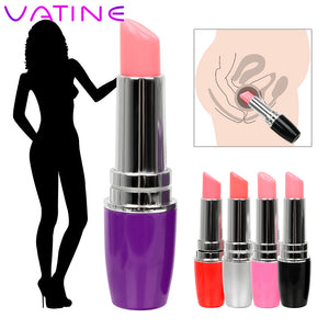 VATINE Mini Lipstick Vibrator Machine products Waterproof Jump Egg Bullet Clitoral Stimulation Sex Toy for Woman Discreet Quiet