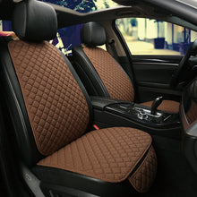 Load image into Gallery viewer, Large Size One Seat Flax Car Seat Cover Protector Front Seat Back Cushion Pad Mat Auto Front Automotive interior Truck Suv Van