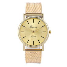 Load image into Gallery viewer, Geneva Women Top Brand Luxury Watch Woman's Bracelet Stainless Steel Delicate Dial Ladies Dress Clock Relogio Feminino Gift Q