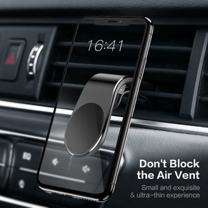 Tideok Magnetic Car Phone Holder L Shape Air Vent Mount Stand in Car GPS Mobile Phone Holder For iPhone X Samsung S9 Xiaomi
