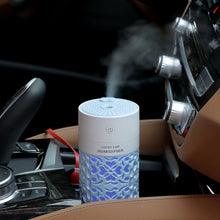 Load image into Gallery viewer, saengQ 250ml Air Humidifier with LED Night Lamp Mini Fan Aroma Essential Oil Diffuser USB Fogger Mist Maker for Home Office Car