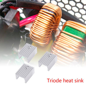 10pcs TO-220 Cooling Radiator Aluminum Sheet Heatsink Transistor Heat Sink Cooler Radiator Cooling For PC Computer Components