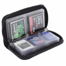 Load image into Gallery viewer, HC MMC CF 22 Cards Slot For Micro SD Memory Card Storage Carrying Pouch bag Box Case Holder Protector Wallet