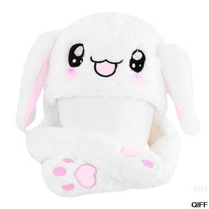& Hot Novelty Magic Rabbit Hat With Moving Ear Plush Toy Gift Kids Toy Party Photo May06