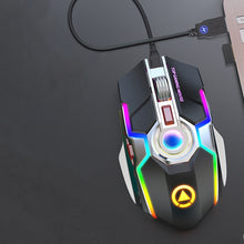 Load image into Gallery viewer, Wireless Gaming Mouse Rechargeable Gaming Mouse Silent Ergonomic 7 Keys RGB Backlit 1600 DPI mouse for Laptop Computer Pro Gamer