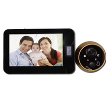 Load image into Gallery viewer, Topvico Peephole Door Camera 4.3 Inch Color Screen With Electronic Doorbell LED Lights Video Door Viewer Video-eye Home Security