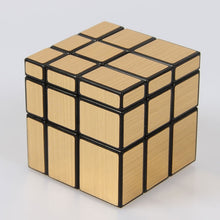 Load image into Gallery viewer, 3x3x3 Magic Mirror Cube Professional Gold silver Cubo Magico Cast Coated Puzzle Speed Twist Learning And Education Toys