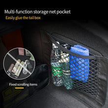 Load image into Gallery viewer, Mesh Trunk Car Organizer Net Goods Universal Storage Rear Seat Back Stowing Tidying Auto Accessories Car Storage Bag