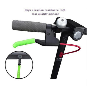 2Pcs/set Electric Scooter Brake Handle Cover Bike Brakes Silicone Sleeve Anti-slip For Xiaomi M365 Universal Brake Lever Covers