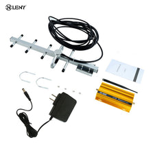 Load image into Gallery viewer, GSM 900mHz Mobile Phone Signal Booster Repeater Amplifier + Yagi Aerial Full-Duplex Single-Port Design AT-980