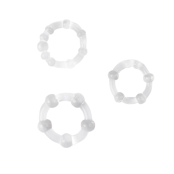 3pcs Silicone Cock Rings Delay Ejaculation Penis Rings Adult Toys Erotic Toy Sex Toys for Men