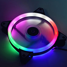Load image into Gallery viewer, Adjustable Computer Cooling Fan 120mm Fan PC Case Fan CoolerCase Glare Red Blue Green White Cooler Fans for Computer Cooler RGB