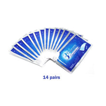 Load image into Gallery viewer, 28Pcs/14Pair 3D Advanced Teeth Whitening Strips Stain Removal for Oral Hygiene Clean Double Elastic Dental Bleaching Strip